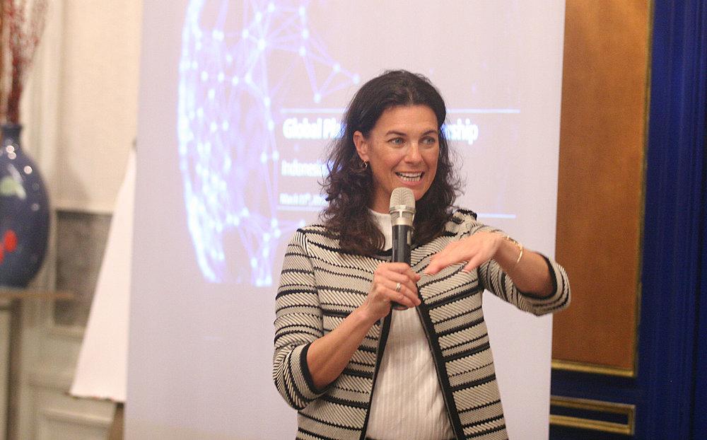 Kristin Hughes, Director of the Global Plastic Action Partnership