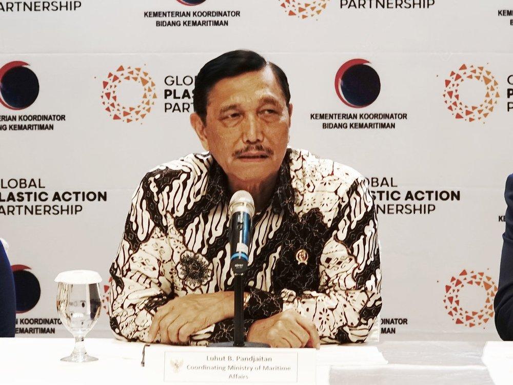 Luhut B. Pandjaitan, Coordinating Minister for Maritime Affairs, Indonesia