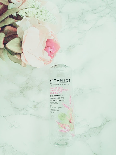 Boots Botanics Micellar Water for Winter Skincare