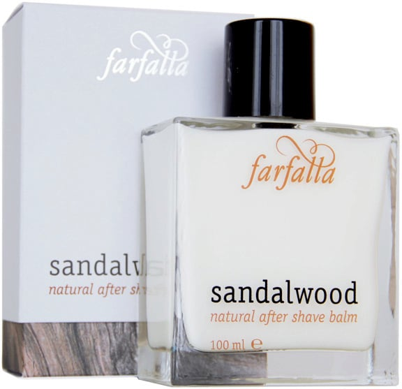 Farfalla Sandalwood Vegan Aftershave Balm for Him Christmas Gift.jpg