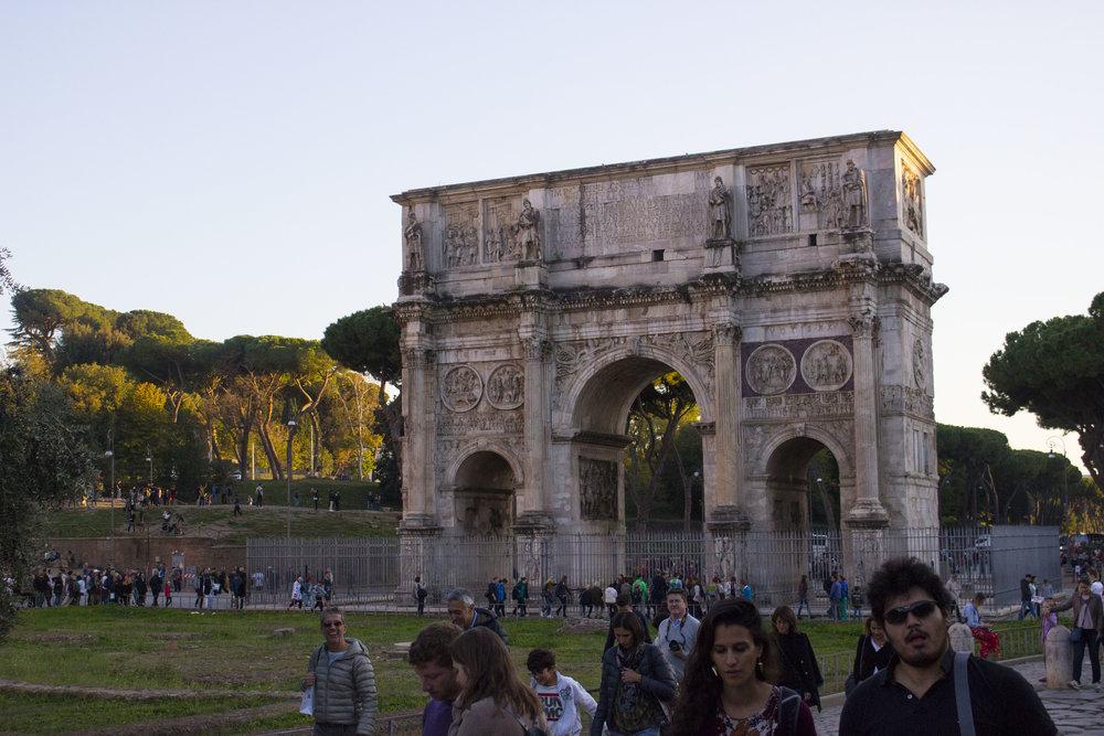 Trajan Arch