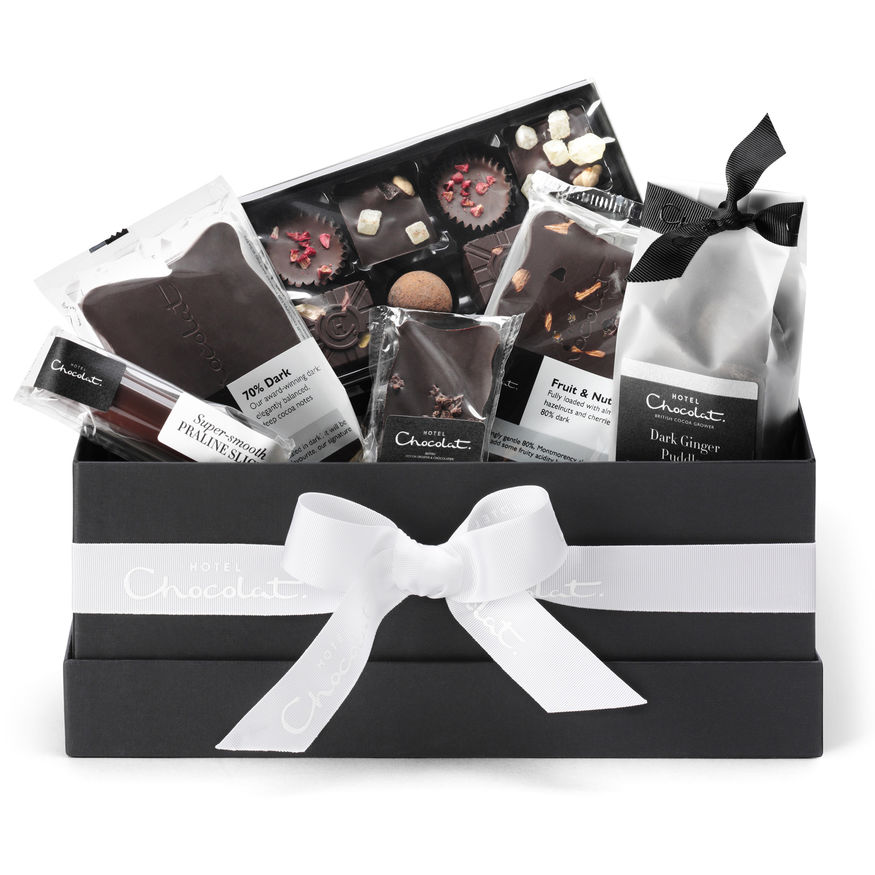 Hotel chocolat dark chocolate hamper.jpg