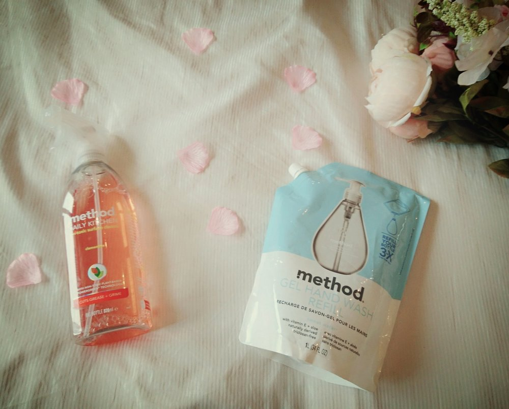 Method Handwash and Household Cleaning Spray