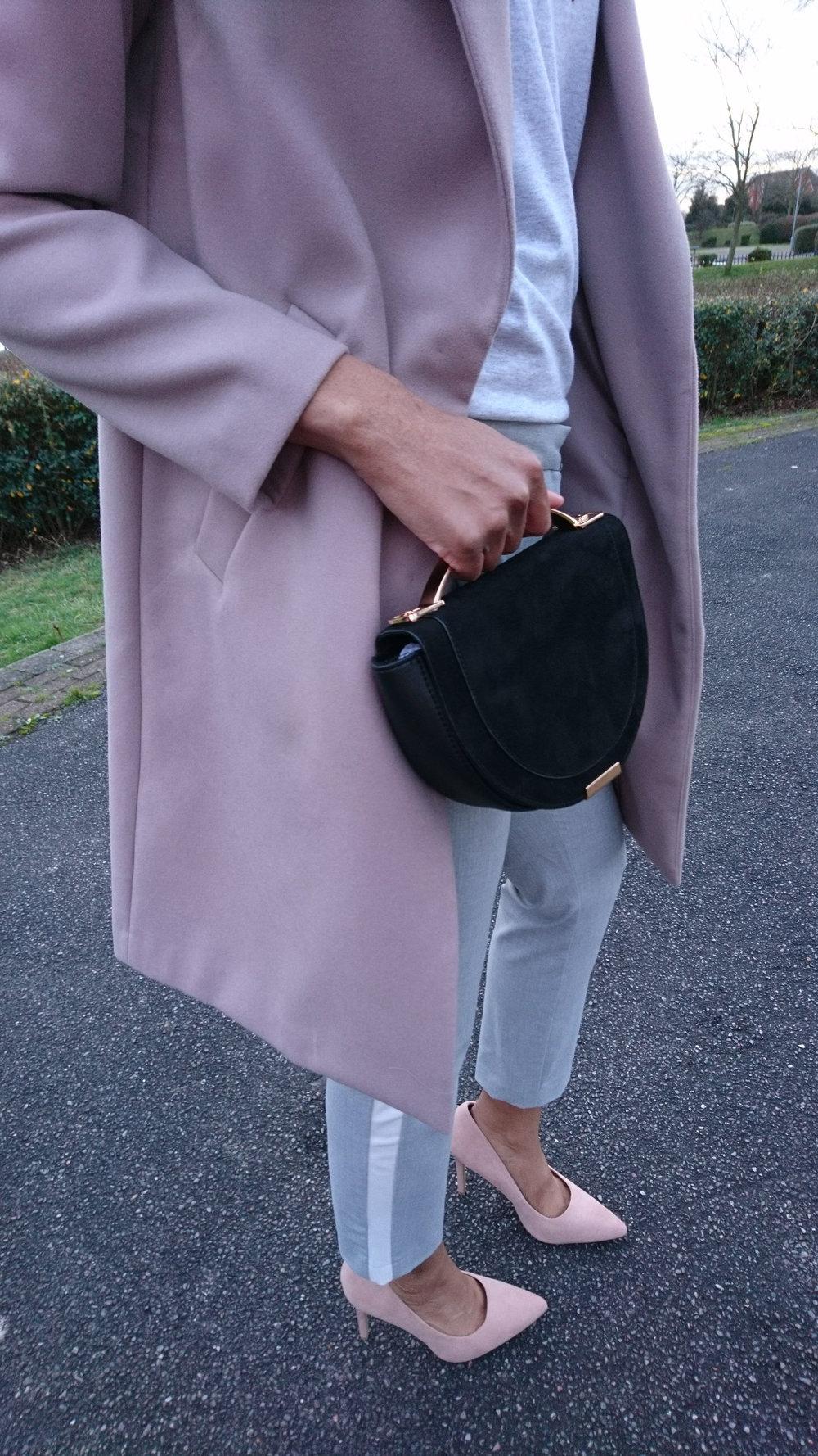 Grey Zara trousers