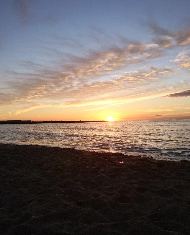 Barcelona Sun rise