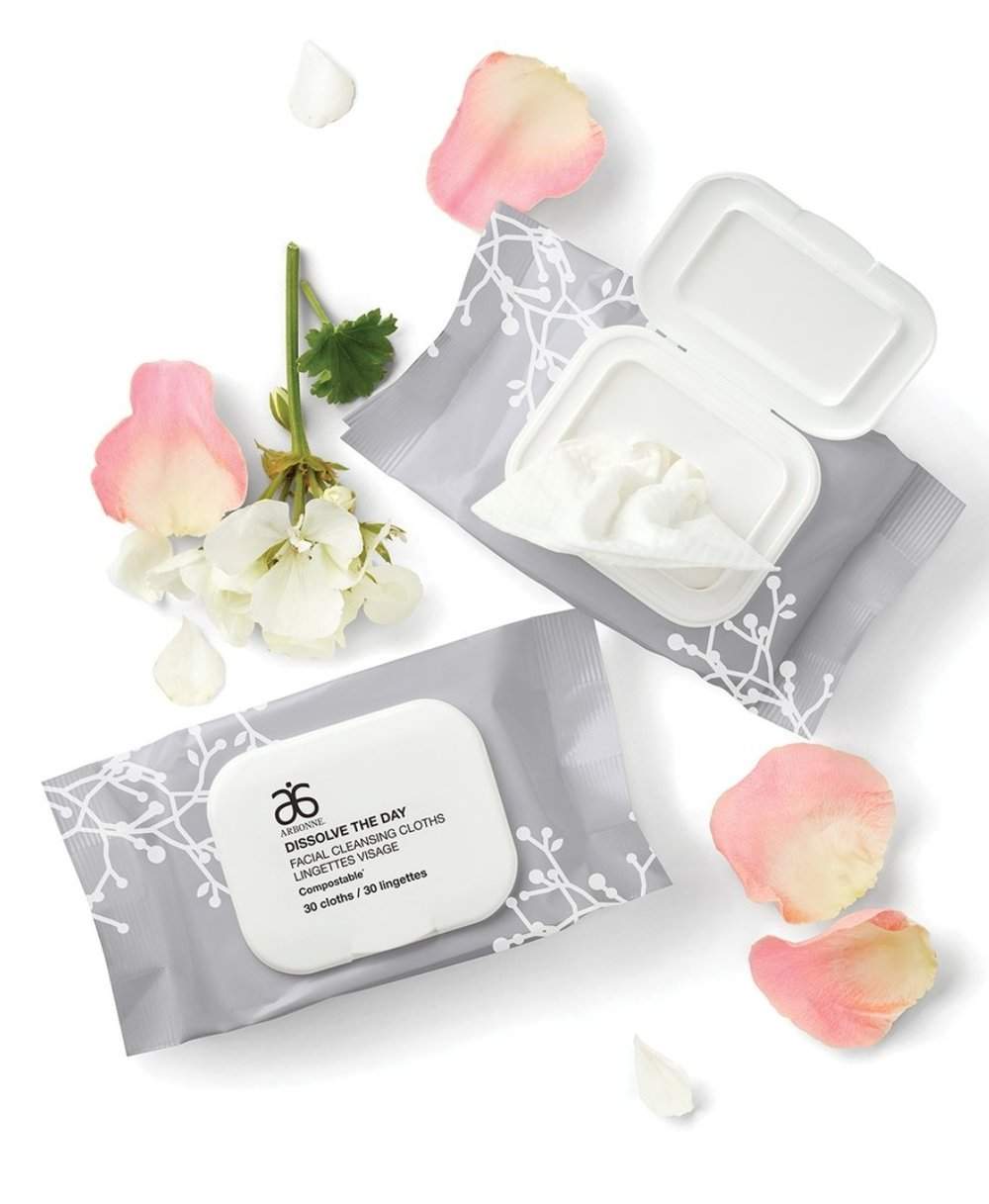 Arbonne Make Up Wipes