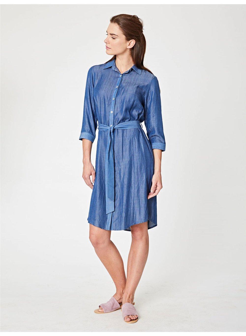 Thought Meena Chambray Shirt Dress.jpg