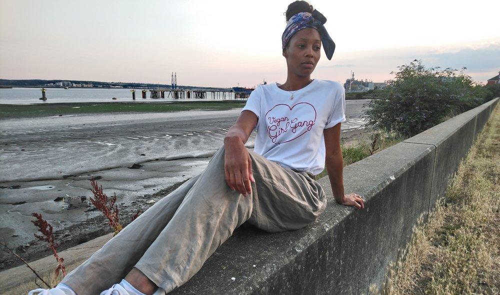 Kasia Vegan Girl Gang T-Shirt