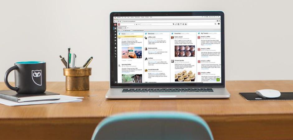 """Social Media Management med världens ledande plattform - Hootsuite blev i 2017 utnämnt av Forrester Wave som """"leader"""" bland världens ledande verktyg för social media management.Hootsuite grundades 2008 och har mer än 2500 kunder och 13 miljoner användare över hela världen. De är, om du frågar oss, de bästa till social media management och samlar hantering av sociala medier, annonsering på sociala medier och employee advocacy påen plattform.Läs mer på hootsuite.com >"""