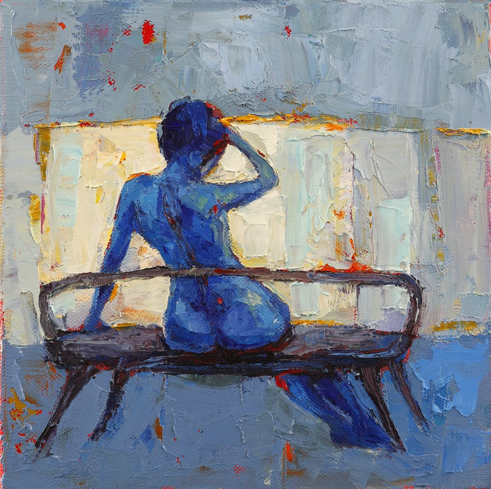 Title: Take Time Size: 8 x 8 inches Medium: Oil on Canvas SOLD
