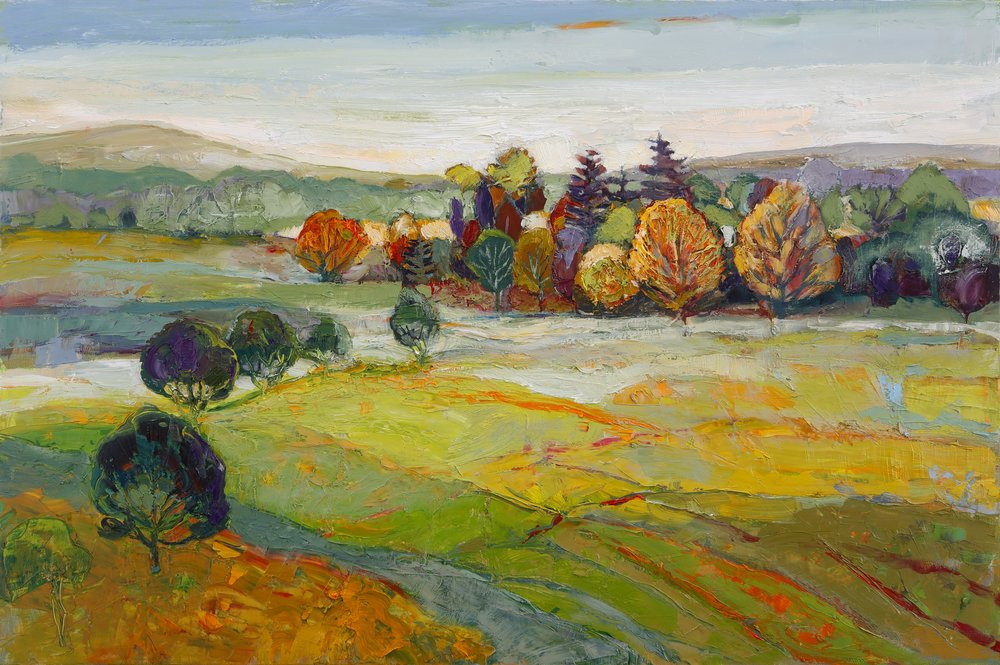 Title: Autumn Snapshot Size: 20 x 30 inches Medium: Oil on Canvas Price: SOLD