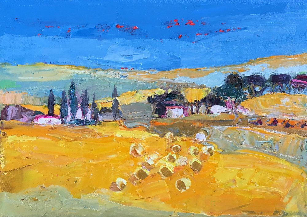 Title: Little Vista Size: 5 x 7 inches Medium: Oil on Canvas Price: SOLD