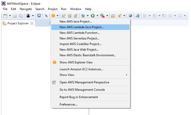 Developing RESTful APIs in Java using Amazon API Gateway and