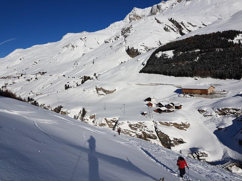31.12.17 - 01.01.18 Grosshorn,Juf - Bivio - (CH-GR) Capodanno nella Val d'Avers