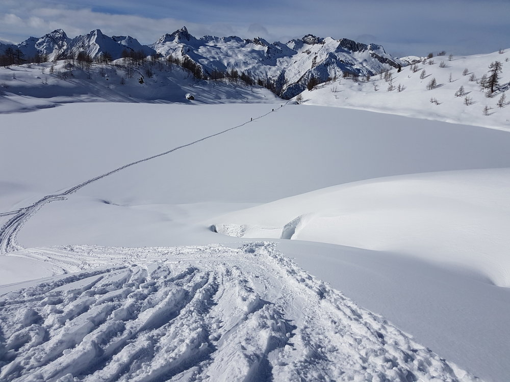 11.02.2018 Mognola - Tre Corni -