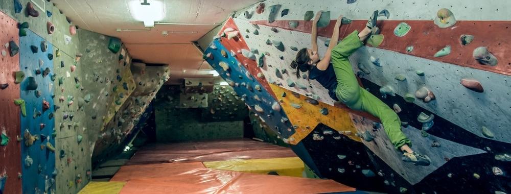 indoor boulder -