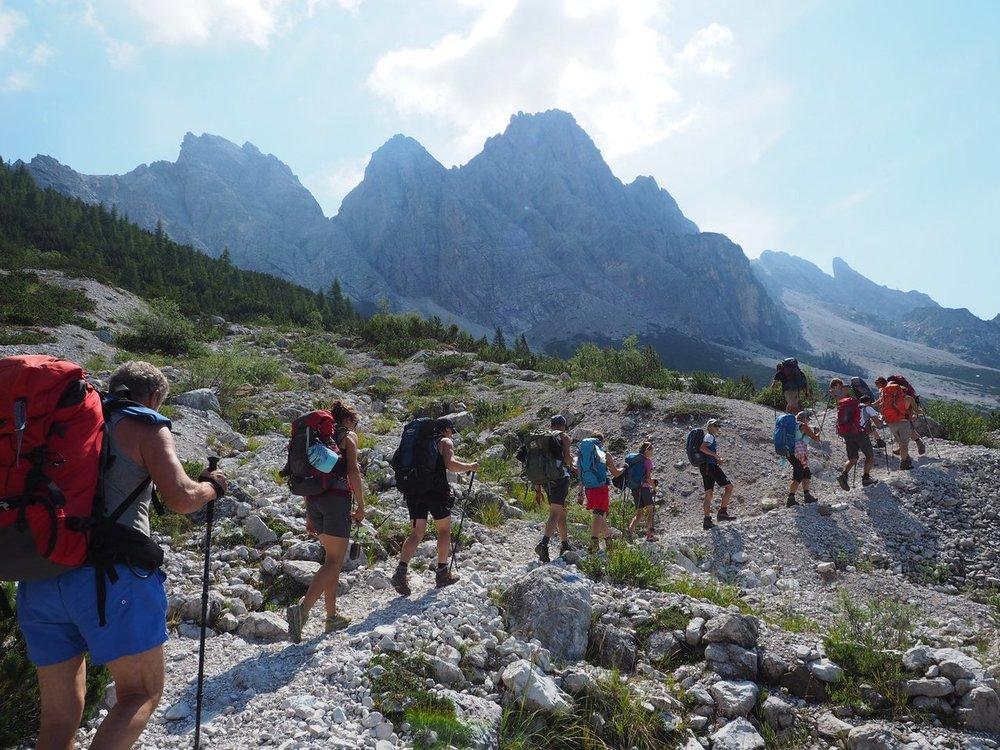 16.07.2017 Dolomiti Via Alta Nr. 1 2a parte -