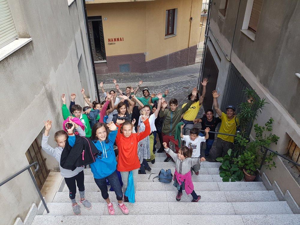 22-30.06.18 Settimana gruppo Giovani a Ulassai, Sardegna -