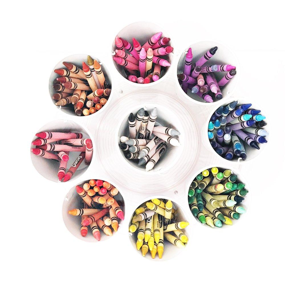 Shelfie_Kids_Organized Crayons