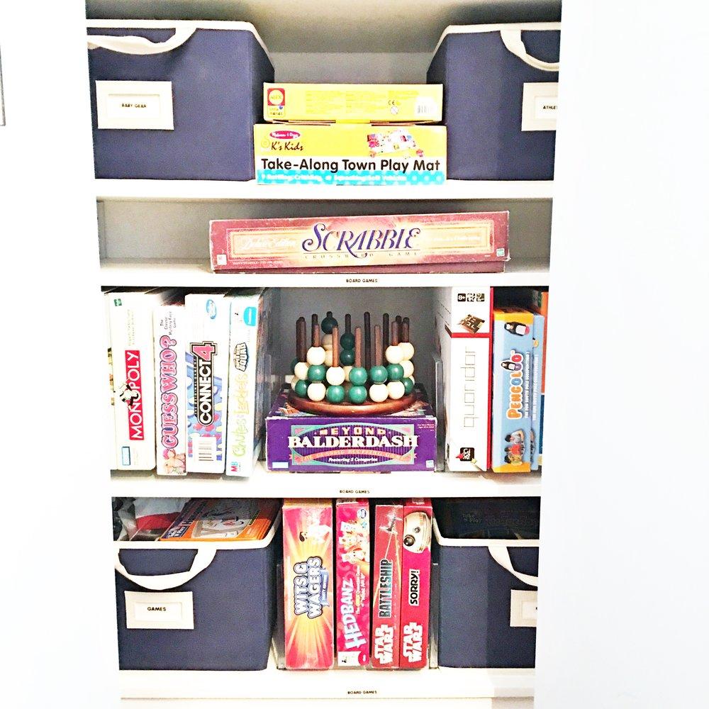 Shelfie_Kids_Organized Board Games
