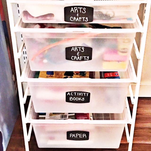 Shelfie_Kids_Organized Arts and Crafts