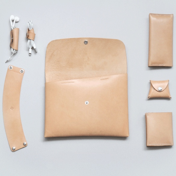 KONCEPT STUDIOS - LEATHER GOODS