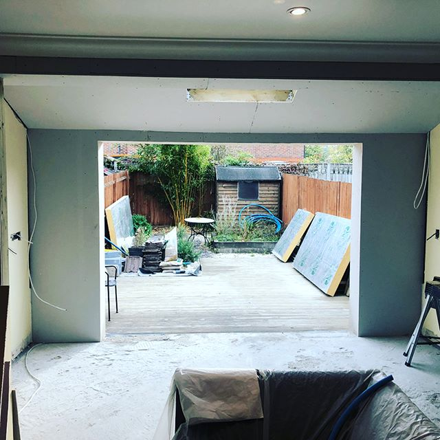 Refurbishment project nearing completion. Customer extremely please as are we. Will be finished on time and in budget. #carpentry #refurbished #refurbishment #carpentrylife #extensions #qualityworkmanship #hairsalon #plumbing #newkitchen #happyclients #happycustomer😊