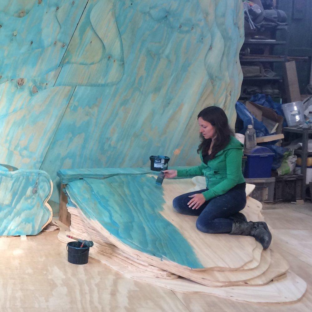 TIN SHED scenery Rebecca Lewis.JPG