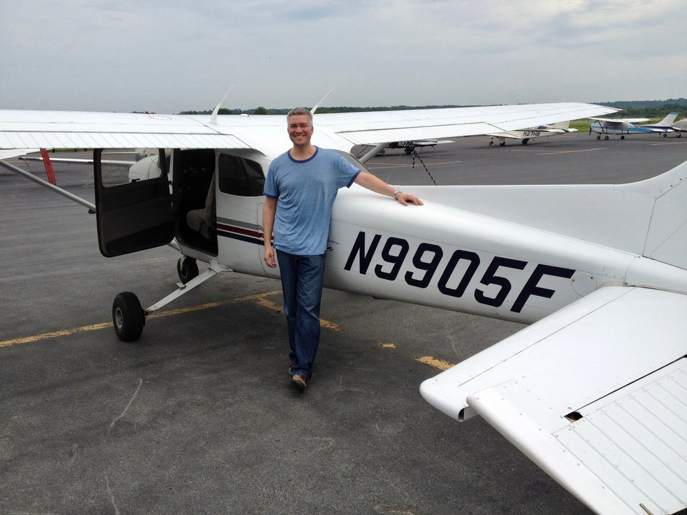 Just completed my first solo, July 2012.