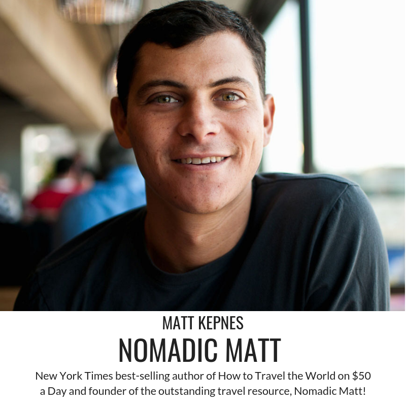 Nomadic Matt Interview