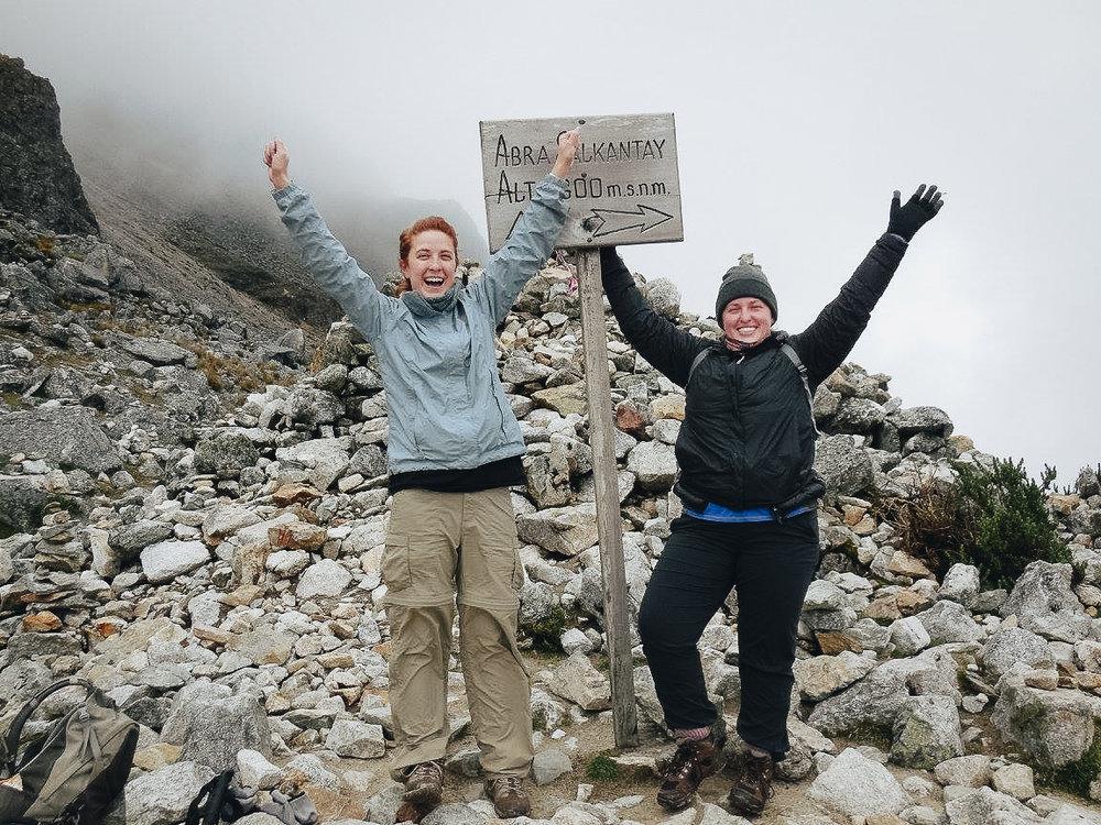 Hiking Through The Salkantay Trek