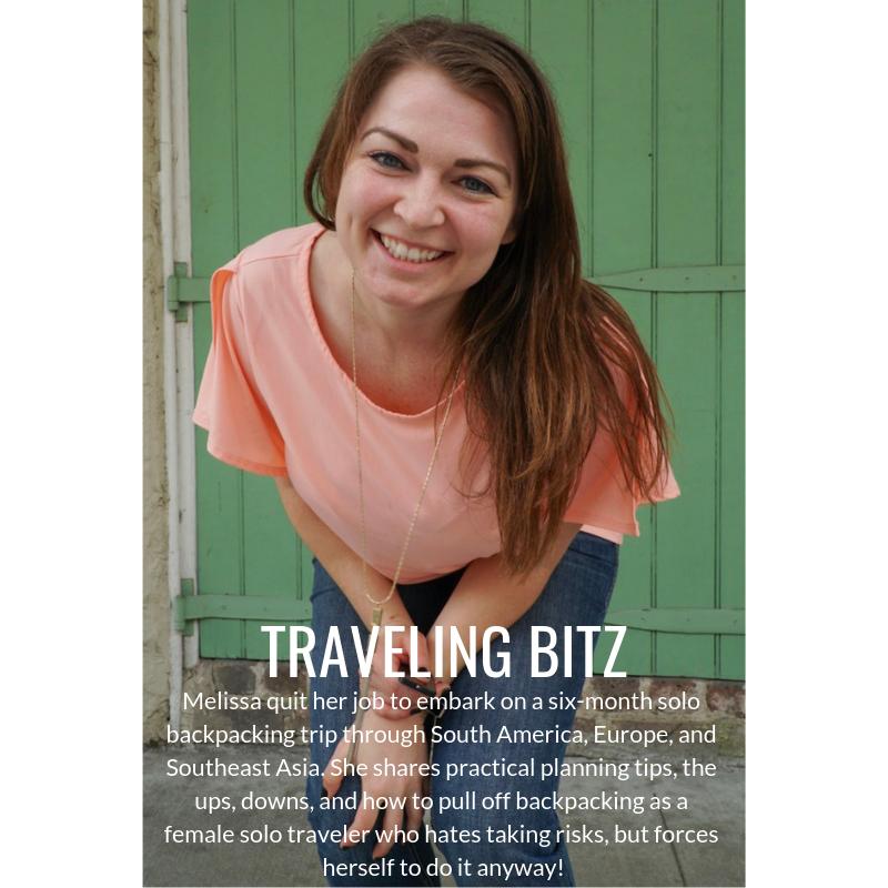 Melissa Bitz from Traveling Bitz