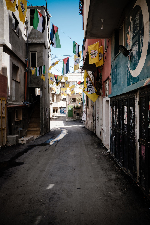 Street in Dheisheh...