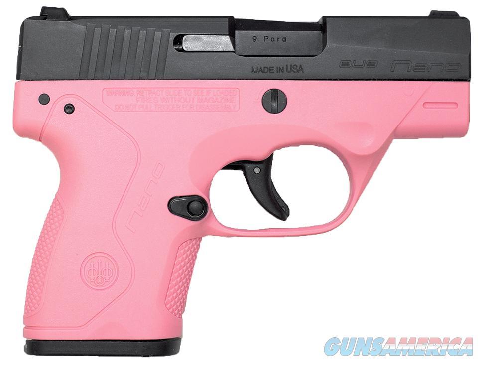 Beretta Nano Pink 9mm