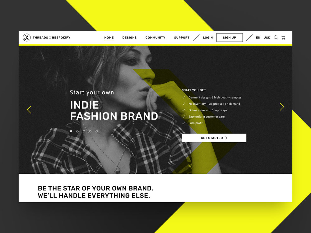 THREADS X BESPOKIFY - Business Design That Helped a Tech Pioneer Disrupt Fashion E-commerce