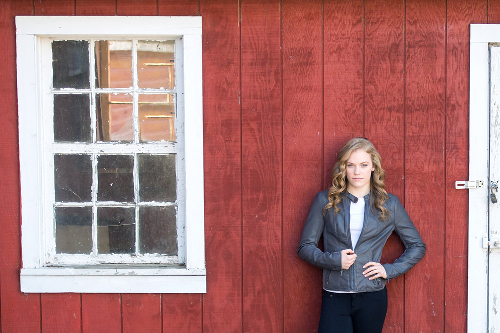 senior portraits - on location or at our studio