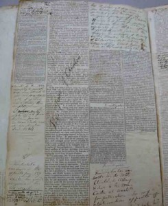 Inside Watson's Commonplace Book