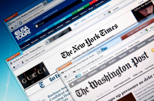 American online newapaper web sites
