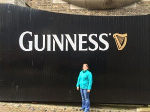 Liz at Guinness Gates