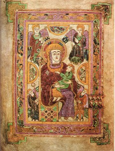 Book of Kells Madonna