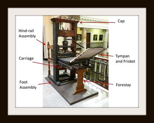 Printing Press Labeled 1