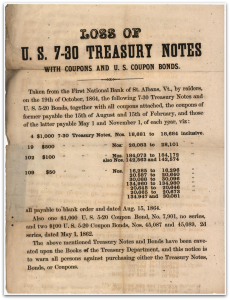 Treasury Notes St Albans