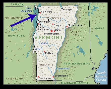 The Confederate Raid of St Albans Vermont Liz Covart