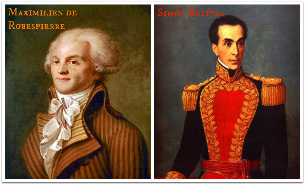 Robespierre and Bolivar