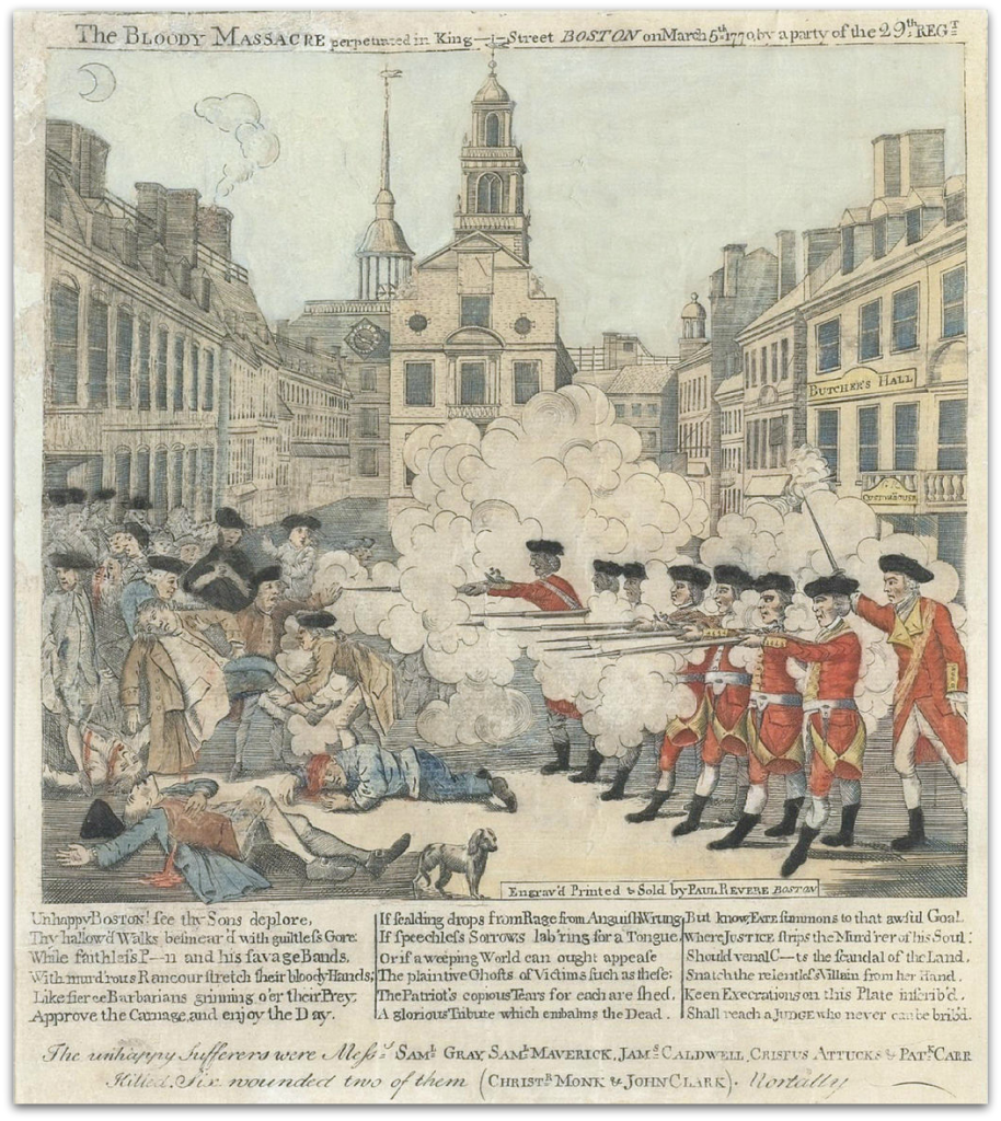 Boston Massacre No Frame