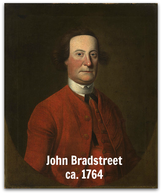 John Bradstreet 1764