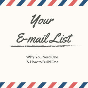 Your E-mail List