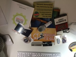 Podcast Movement Swag Bag Contents