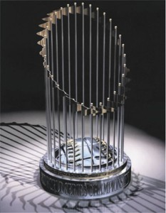 2004 World Series Trophy