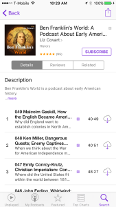 Apple Podcasts App Subcribe